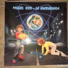 Discos de vinilo: MIGUEL RÍOS: LA ENCRUCIJADA. Lote 193843623