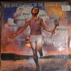 Discos de vinilo: THE OFFICIAL MUSIC OF THE 1984 GAMES. Lote 193843687
