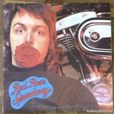 Discos de vinilo: WINGS. RED ROSE SPEEDWAY. GATEFOLD. LIBRETO. WINGS, PCTC 251. AUSTRALIA,1973. FUNDA VG+. DISCO VG++. Lote 193843776