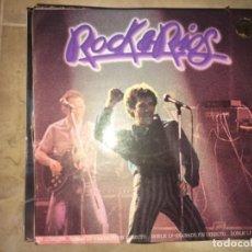 Discos de vinilo: ROCK & RIOS: DOBLE LP GRABADO EN DIRECTO. Lote 193843821