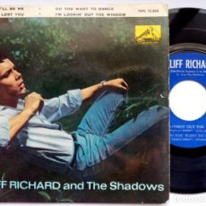 Discos de vinilo: CLIFF RICHARD & THE SHADOWS - DO YOU WANT TO DANCE - EP 1962 - LA VOZ DE SU AMO. Lote 193846172