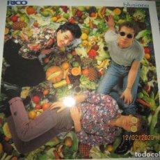 Discos de vinilo: RICO - BLUSIANA LP - ORIGINAL ESPAÑOL - POLYDOR 1993 CON FUNDA INT. ORIGINAL. Lote 193848136