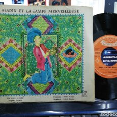 Discos de vinilo: ALADIN ET LA LAMPE MERVEILLEUSE DISCO CUENTO ERICH BENDER FRANCIA. Lote 193851202