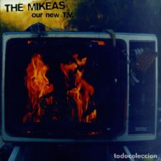 Discos de vinilo: EP THE MIKEAS ‎– OUR NEW T.V. - FRENETIC LIFE + 3 - ELEFANT - 1995 - FOC - NM/NM. Lote 193851580