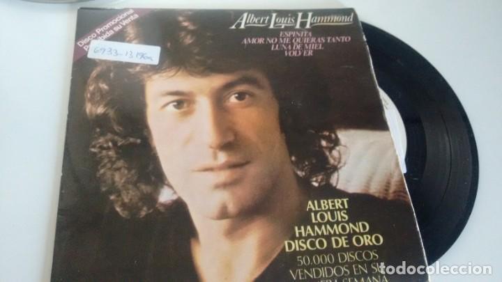 E.P. ( VINILO) -PROMOCION-DE ALBERT LOUIS HAMMOND ( DISCO DE ORO) ( RARO) AÑOS 70 (Música - Discos de Vinilo - EPs - Pop - Rock Extranjero de los 70)