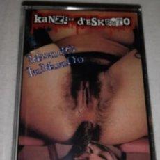 Discos de vinilo: MAKETA KANZER D'ESKROTO MUNDO INMUNDO K7 PSC 1998 RAREZA JOYA PUNK ZARAGOZA ANIMALES MUERTOS. Lote 190647888