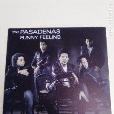 Discos de vinilo: THE PASADENAS FUNNY FEELING ( 1988 CBS ESPAÑA ). Lote 193856795