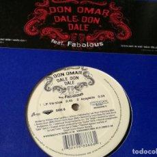 Discos de vinil: DON OMAR - DALE DON DALE - 2005. Lote 193856992