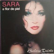Disques de vinyle: SARA MONTIEL. SINGLE PROMOCIONAL / UNA CARA. SELLO SALAMANDRA. EDITADO EN ESPAÑA. AÑO 1990. Lote 193857745