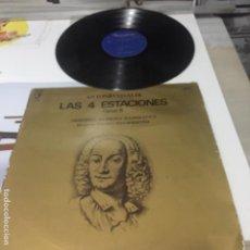 Discos de vinilo: LAS CUATRO ESTACIONES DE VIVALDI - ORQUESTA BARROCA HANSEATICA - 1974 DISCOPHON. Lote 193867153