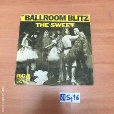 Discos de vinilo: BALLROOM BLITZ. Lote 193869710