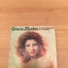Discos de vinilo: GRACIA MONTES. Lote 193870287
