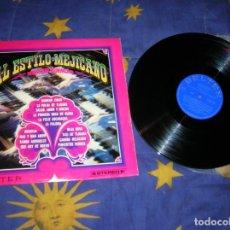 Discos de vinilo: LP AL ESTILO MEJICANO ,DIETER REITH ,INCLUYE 14 CANCIONES. Lote 193872076