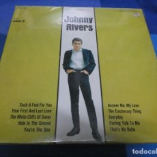 Discos de vinilo: LP USA AÑOS 70 JOHNNY RIVERS USA PICKWICK PORTADA PERFECTA DISCO MILES SEÑALES LEVES. Lote 193874617