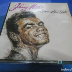 Discos de vinilo: LP USA AÑOS 60 JOHNNY MATIS THE SHASDOW OF YOUR SMILE MUY BUEN ESTADO. Lote 193874682