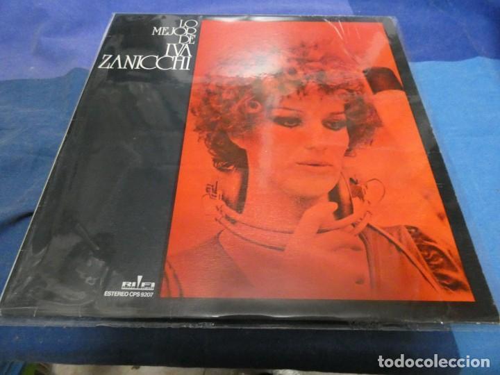 LO MEJOR DE IVA ZANNICHI LP ESPAÑOL BUEN ESTADO (Música - Discos - LP Vinilo - Cantautores Extranjeros)