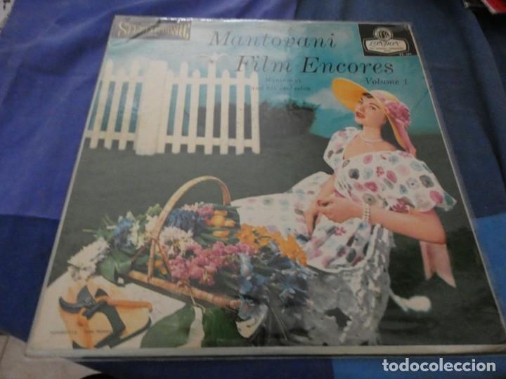 LP USA AÑOS 50 MANTOVANI FILM ENCORES VOLUME 1 BUEN ESTADO (Música - Discos de Vinilo - EPs - Bandas Sonoras y Actores)