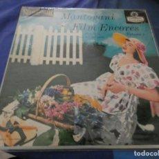 Discos de vinilo: LP USA AÑOS 50 MANTOVANI FILM ENCORES VOLUME 1 BUEN ESTADO. Lote 193875418