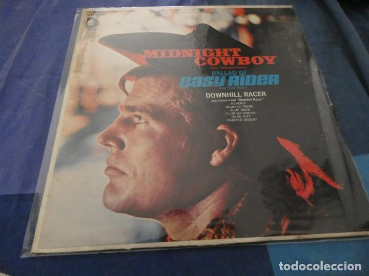 LP MUY ANTIGUO AMERICANO TEMAS DE MIDNIGHT COWBOY Y EASY RIDER ESTADO CORRECTO (Música - Discos de Vinilo - EPs - Bandas Sonoras y Actores)