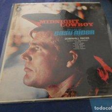 Discos de vinilo: LP MUY ANTIGUO AMERICANO TEMAS DE MIDNIGHT COWBOY Y EASY RIDER ESTADO CORRECTO . Lote 193875687