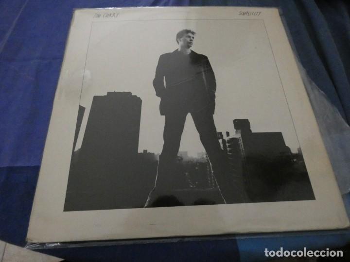 TIM CURRY SIMPLICITY LP BUEN ESTADO AÑO 1981 (Música - Discos de Vinilo - EPs - Bandas Sonoras y Actores)