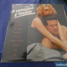 Discos de vinilo: LP BUEN ESTADO NUEVE SEMANAS Y MEDIA PORTADA MAL VINILO MUY BUEN ESTADO. Lote 193876076