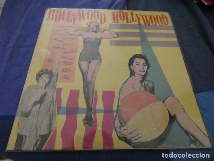 LP ITALIANO HOLLYWOOD HOLLYWOOD CANTAN : MARILYN ANTHONY QUINN JERRY LEWIS ESTADO DECENTE (Música - Discos de Vinilo - EPs - Bandas Sonoras y Actores)