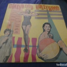Discos de vinilo: LP ITALIANO HOLLYWOOD HOLLYWOOD CANTAN : MARILYN ANTHONY QUINN JERRY LEWIS ESTADO DECENTE . Lote 193876245