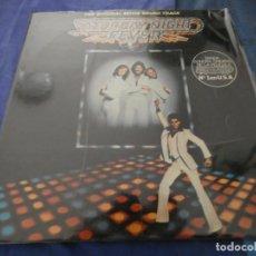 Disques de vinyle: DOBLE LP FIEBRE DEL SABADO NOCHE MUY BUEN ESTADO SATURDAY NIGHT FEVER JOHN TRAVOLTA . Lote 193876370