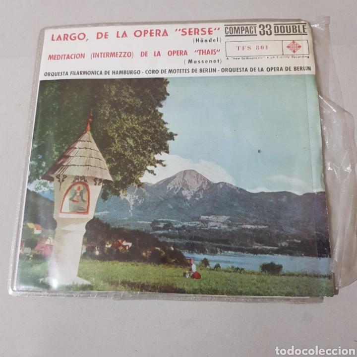 LARGO DE LA OPERA SERSE ( HANDEL ) - MEDITACION DE LA OPERA THAIS ( MASSENET ) ... (Música - Discos - Singles Vinilo - Clásica, Ópera, Zarzuela y Marchas)