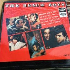 Discos de vinilo: THE BEACH BOYS - BARBARA ANN (EP) (CAPITOL RECORDS) EAP 1-20779 (D:NM/C:NM). Lote 193878106