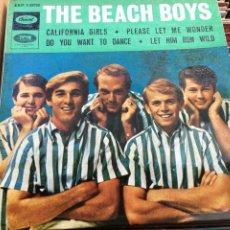 Discos de vinilo: THE BEACH BOYS - CALIFORNIA GIRLS / LET HIM RUN WILD / PLEASE LET ME WONDER (D:NM/C:NM). Lote 193878138