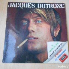 Discos de vinilo: JACQUES DUTRONC, EP, LE COURRIER DU COEUR + 3, AÑO 1968 MADE IN FRANCE. Lote 193878307