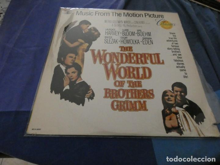 LP MUY BUEN ESTADO BSO DE LA PELI THE WONDERFUL WORLD OF BROTHERS GRIMM (Música - Discos de Vinilo - EPs - Bandas Sonoras y Actores)
