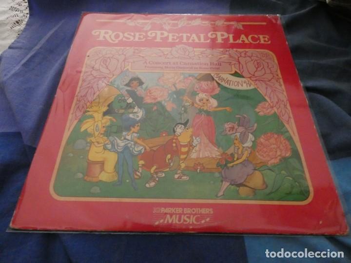 LP AMERICANO AÑOS 70 ROSE PETAL PLACE!! A CONCERT IN CARNATION HALL FEAT MARUIE OSMOND BUEN ESTADO (Música - Discos de Vinilo - EPs - Bandas Sonoras y Actores)