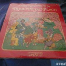 Discos de vinilo: LP AMERICANO AÑOS 70 ROSE PETAL PLACE!! A CONCERT IN CARNATION HALL FEAT MARUIE OSMOND BUEN ESTADO . Lote 193880025
