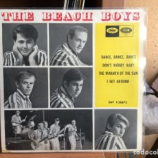 Discos de vinilo: THE BEACH BOYS - DANCE, DANCE, DANCE (EP) (CAPITOL RECORDS) EAP 1-20675 (D:NM/C:NM). Lote 193881386