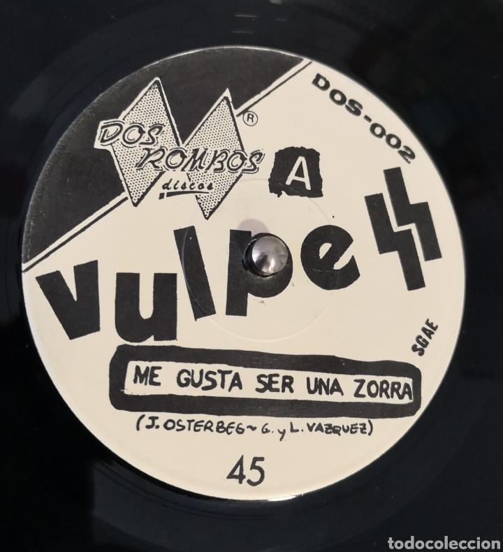 Discos de vinilo: VULPESS - ME GUSTA SER UNA ZORRA - Foto 2 - 193882190