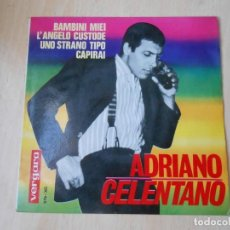 Discos de vinilo: ADRIANO CELENTANO, EP, BAMBINI MIEI + 3, AÑO 1964. Lote 193885760