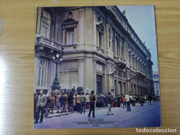 Discos de vinilo: Concierto En El Colon (Folklore Y Tango) LP MUY RARO ARGENTINO - Foto 3 - 193886107