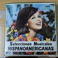Dischi in vinile: SELECCIONES MUSICALES HISPANOAMERICANAS. CAJA CON 12 VINILOS. RCA.. Lote 193886711