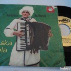 Discos de vinilo: SLOBODAN BOZINOVIC VLASKA KOLA BEOGRADISK MADE IN YUGOSLAVIA 1961. Lote 193887952