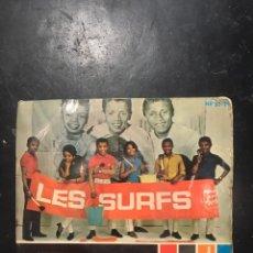 Discos de vinilo: LES SURFS SINGLE EP DE 1966. Lote 193902156