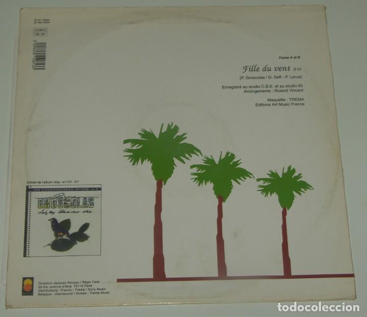 Discos de vinilo: PIERRE GROSCOLAS - FILLE DU VENT - TREMA 1971 FRANCE - Foto 2 - 193912325