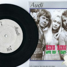 Discos de vinilo: ABBA MEGA RARE EP FROM CUBA RING RING / HASTA MAÑANA / LOVE ISN´T EASY / SO LONG. Lote 193914491