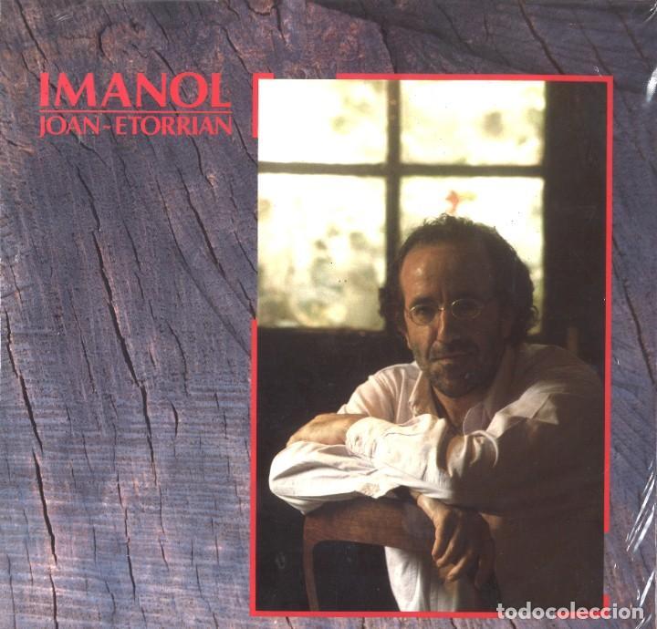 IMANOL. JOAN-ETORRIAN. DOBLE LP. PRECINTADO. 1987 (Música - Discos de Vinilo - EPs - Cantautores Españoles)