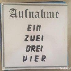 Discos de vinilo: AUFNAHME: EIN, ZWEI, DREI, VIER. Lote 193920257