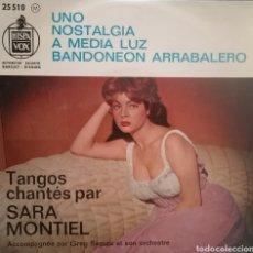Disques de vinyle: SARA MONTIEL. EP. SELLO HISPAVOX. EDITADO EN FRANCIA.. Lote 193923660