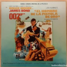 Disques de vinyle: EL HOMBRE DE LA PISTOLA DE ORO (THE MAN WITH THE GOLDEN GUN) JOHN BARRY. Lote 193936472