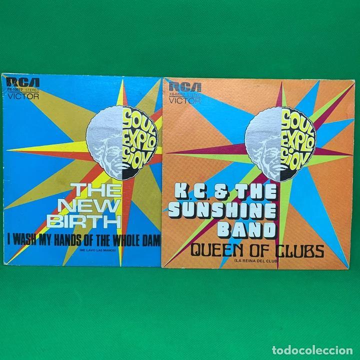 Discos de vinilo: SINGLE- LOTE DE SOUL EXPLOSION- LA REINA DEL CLUB - ME LAVO LAS MANOS VG+ - Foto 2 - 193938045
